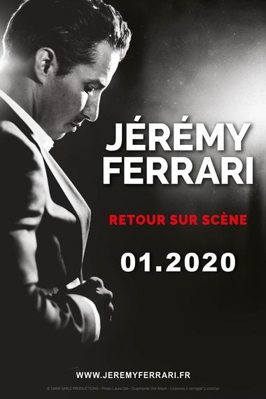AFFICHETEASER-JEREMYFERRARI-40x60-BD