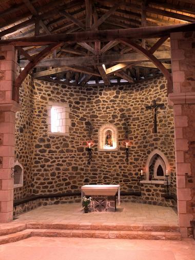 Abbaye de Maylis - Intérieur Chapelle