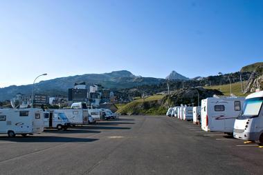 Aire de camping-cars de la Pierre Saint-Martin - Ete