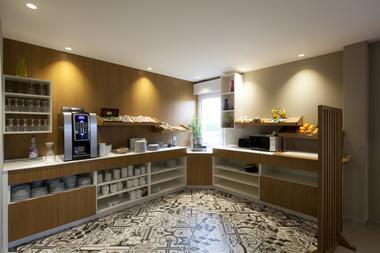 Alysson hôtel - Espace petit déjeuner (Alysson hôtel)