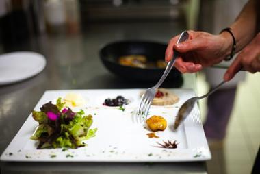 Assiete restaurant Feu de Bois