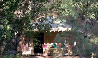 CASTETS - Palika Lodge - jasmin facade TS