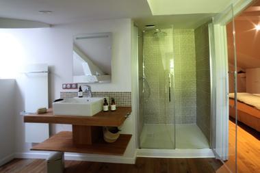CASTETS_Bel Air Maison d'Hôtes des Landes_Chambre Le Barrat_Salle de bain