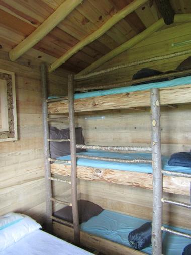 Cabane Papyjotte - 3 lits superposés