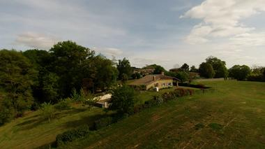 Cabane Papyjotte - vue aérienne