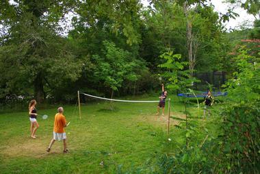 Camping Pyrénées passion - Terrain de volley (BRUNET Stéphane)