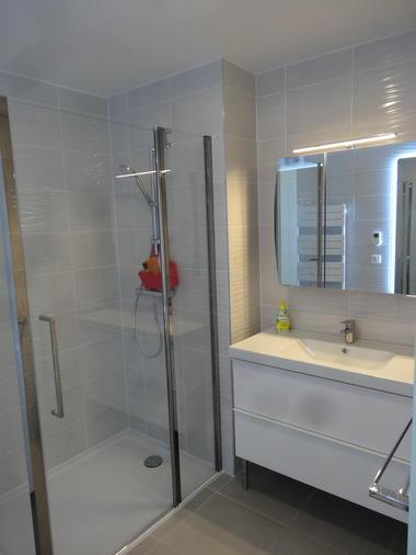 Appartement-Balea-Bidart-salle d'eau