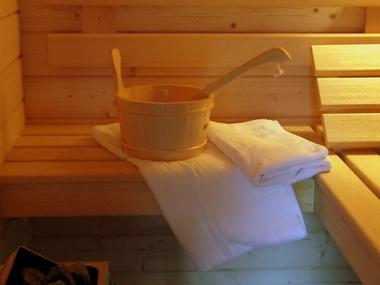 Espace détente - Sauna