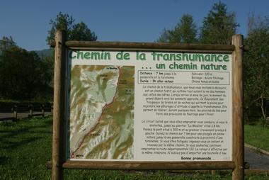Espace détente Le vert à l'oeil - Chemin de la Transhumance