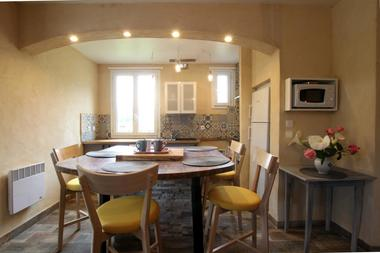 Le chalet d'Issarbe - Coin cuisine