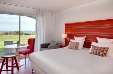 Hôtel Villa L'Arche - vue sur mer - Bidart (3)