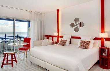Hôtel Villa L'Arche - vue sur mer - Bidart (4)