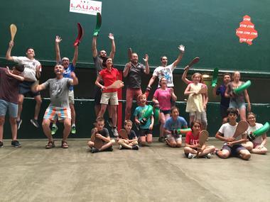 Groupe pelote basque