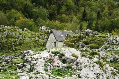 Cabane d'Ichéus VTT