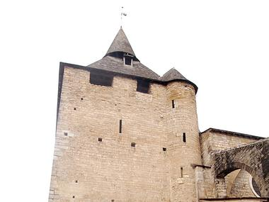 ITI Oloron église Ste-Marie clocher ©CDT64-S.Claudon
