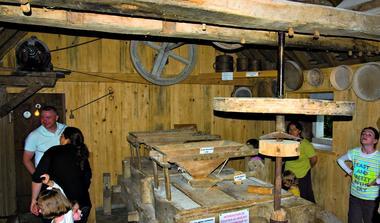 Intérieur du moulin