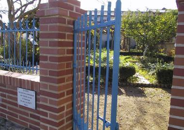 Jardin Payot - entrée ACM
