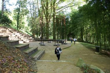 Jardin du Château de Laàs