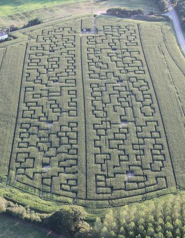 Labyrinthe maïs Soustons