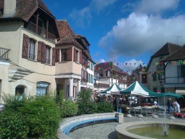 Lalanne marché de Salies de Béarn