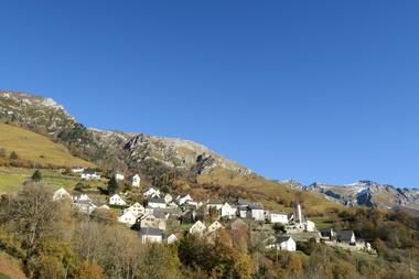 Le village d'Aydius