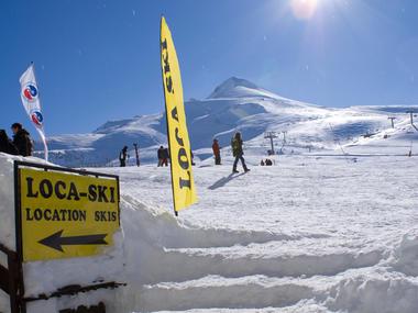 Loca Ski - Vue pistes