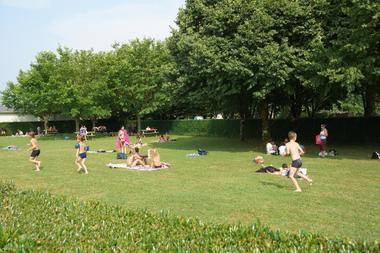 Piscine intercommunale du Haut Béarn - espaces verts (CCHB)