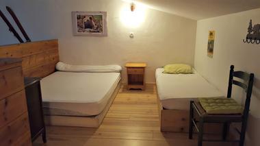 Refuge Jeandel - Chambre en mezzanine