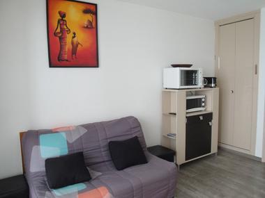 Studio Migné - Convertible BZ dans séjour