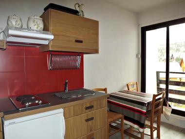 Studio Perez n°206 - Cuisine dans séjour