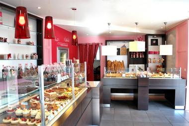 Saint-Sever_Pâtisserie Larrezet_magasin vue d ensemble