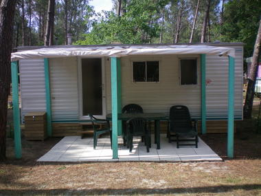 VSG_Camping Bernadon_Mobil home Lock vert 2-4 personnes
