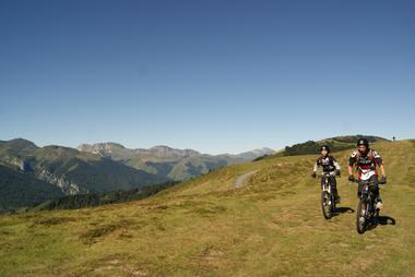 VTT en Barétous; Pascal Hourticq - Plateau