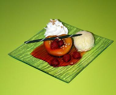 dessert peche - Horizon des Landes