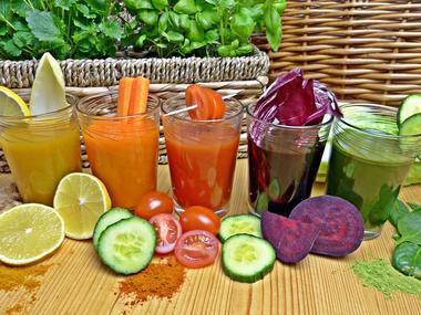 Bio légumes et jus
