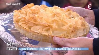 Tourtière Landaise (émission Midi en France)