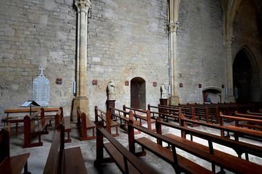 Geaune église intérieur