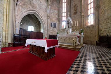 Geaune église intérieur est