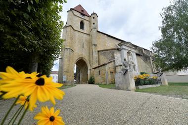 Geaune église porche
