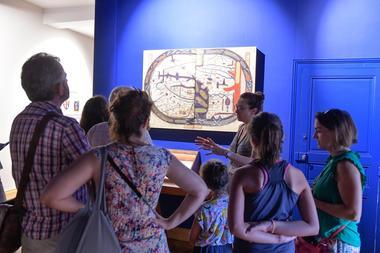 Musée, salle du Beatus