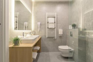 FastHôtel - Chambre Double Supérieure - Salle de bains