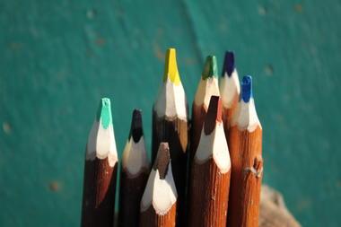 8 couleurs d'hiver atelier du crayon