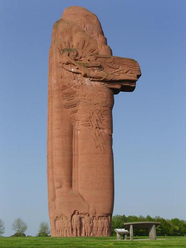 Monument de la 1ère victoire de la Marne - Mondement Mongivroux