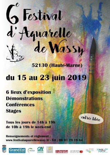 Festival aquarelles de Wassy