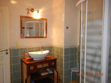 gite Les Clés d'Emeraude - salle de bains - Outines - Lac du Der