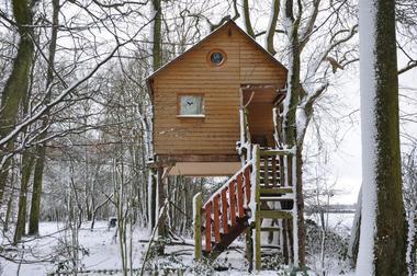 LA CABANE AUX SECRETS en hiver