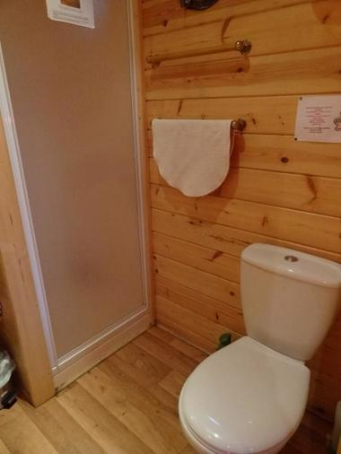 La Roulotte des Elfes - douche et wc