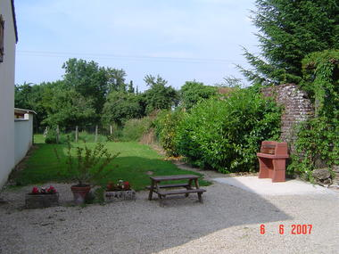 Le Courlis - jardin
