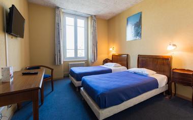 hotel de Champagne Chambre
