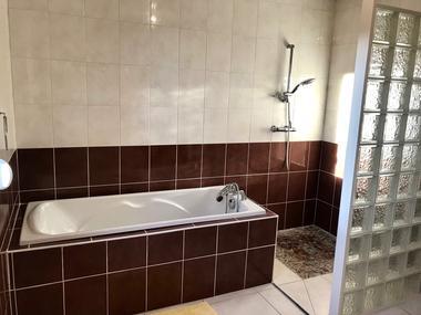 Le Gîte du Verger - Baignoire et douche - Lac du Der